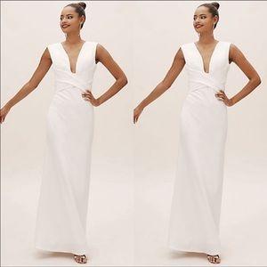 BHLDN Fira Dress in Ivory
